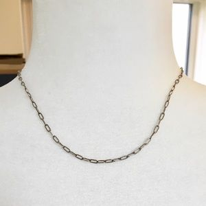 Classic sterling link chain!